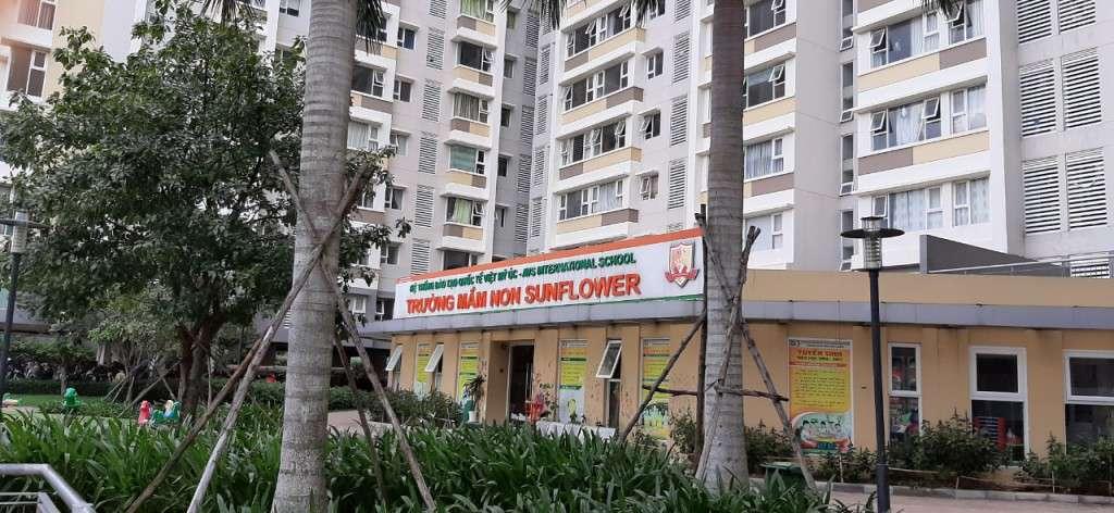 Hệ Thống Trường Mầm Non Quốc tế Việt Mỹ Úc nơi nhân viên bảo vệ Thanh Niên đang làm việc